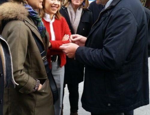 Visite à Huesca de la ministre d'Agriculture