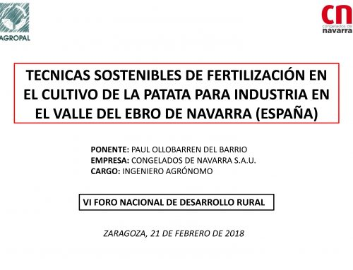 VI Foro de Desarrollo Rural (Fima 2018)
