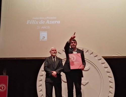 (Español) Galardón Premios Félix Azara 2019