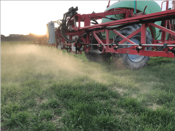 La parada invernal en los cultivos herbáceos extensivos